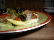 Pasta mit Meeresfrüchten - Rezept
