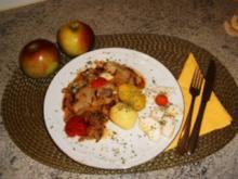 Hack-Apfel -Pfanne - Rezept