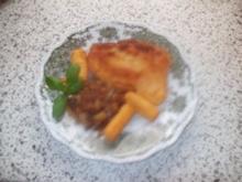 Putenschnitzel paniert mit Paprikagemüse - Rezept