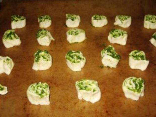 Pesto Schnecken - Rezept - Bild Nr. 4