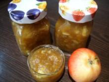 Konfitüre & Co:   Zimtapfel mit Rum - Rezept