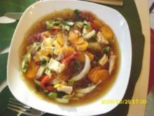Resteküche: Sauer-scharfe Hähnchensuppe - Rezept