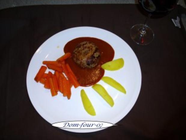 Frikadellen etwas aus Rinderhüfte und Schweinefilet,  mit Loch - Rezept