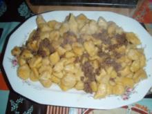 Kartoffel - Gnocchi mit Salbeibutter und Kürbis - Rezept