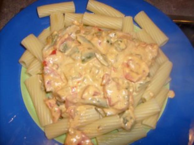 Nudeln in Peperoni- Paprika Sauce - Rezept - Bild Nr. 2
