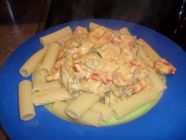 Nudeln in Peperoni- Paprika Sauce - Rezept - Bild Nr. 3