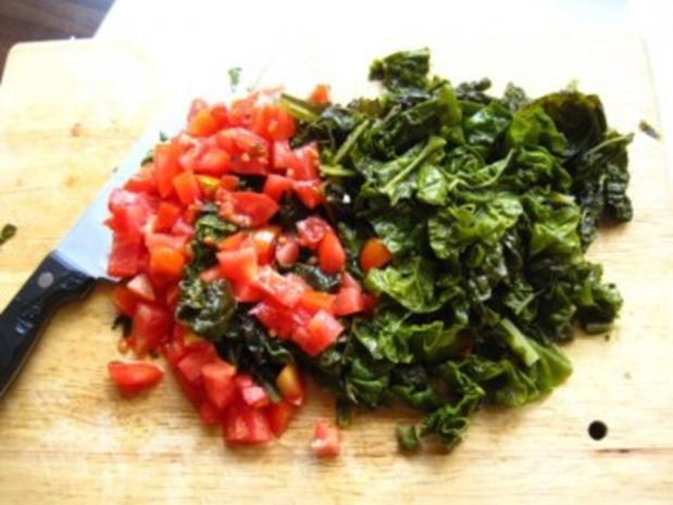 Mangold-Tomaten -Tagliatelle - Rezept - Bild Nr. 2