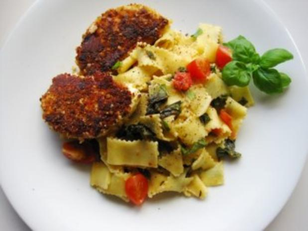 Mangold-Tomaten -Tagliatelle - Rezept