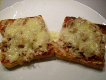 Thunfisch unter Käsehaube - Rezept