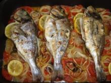 Fischgerichte: Brigittes Doraden aus dem Ofen - Rezept