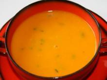 Jamaikanische Kürbissuppe - Rezept