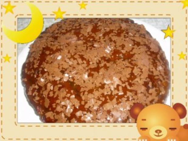 Apfelkuchen mit Rum und Schokolade - Rezept - Bild Nr. 5
