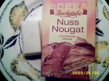 Schokoriegel: Nougat auf Weiß - Rezept