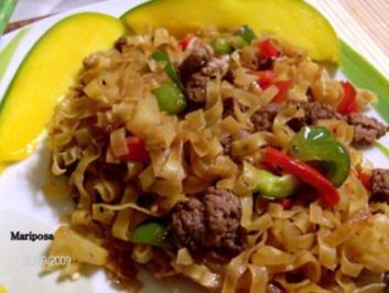 Mein Wok - Pfannengericht - Rezept