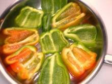FLEISCH: Gefüllte Paprika - Rezept
