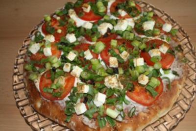 Fladenbrot-Pizza - Rezept