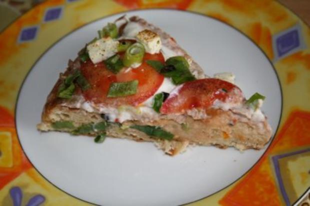 Fladenbrot-Pizza - Rezept - Bild Nr. 2