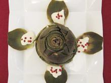 Artischocken mit Pfeffercreme - Rezept