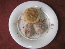 Winterlicher Apfel mit leichter Zimt - Mousse - Rezept