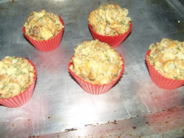 Brezelmuffins oder Brezelknödel - Rezept - Bild Nr. 4