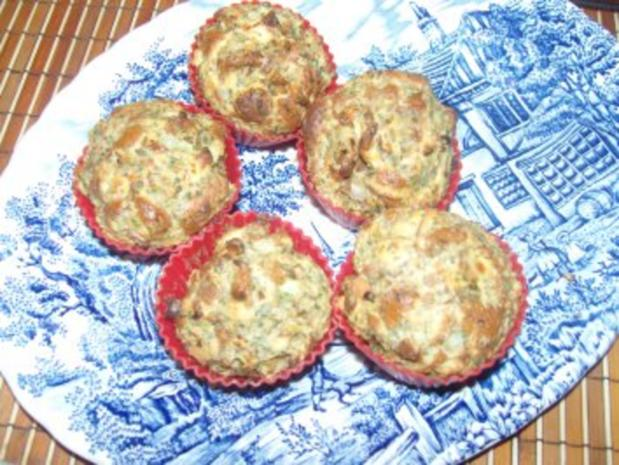 Brezelmuffins oder Brezelknödel - Rezept - Bild Nr. 5