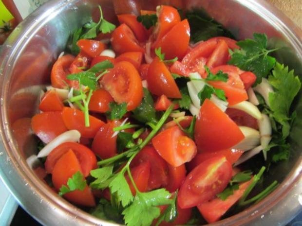 Paella mixta (mit Fleisch und Meeresfrüchten) - Rezept - Bild Nr. 2