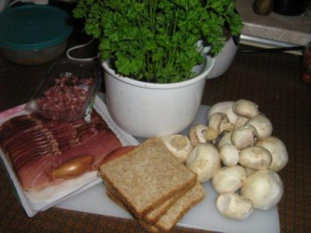 Schwarzwaldschinken-Champignion-Toast - Rezept - Bild Nr. 2