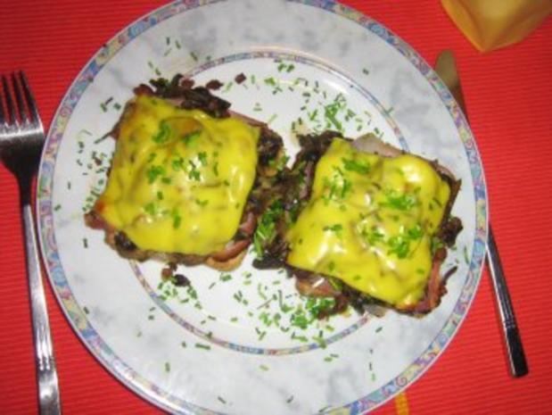 Schwarzwaldschinken-Champignion-Toast - Rezept - Bild Nr. 8