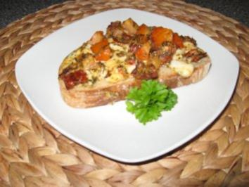 Tomaten-Mozzarella Crosstinis - Rezept