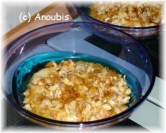 Rezept: Dessert - Joghurt mit Walnüssen und Honig