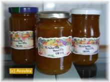 Brotaufstrich - Mirabellenkonfitüre mit Vanille - Rezept
