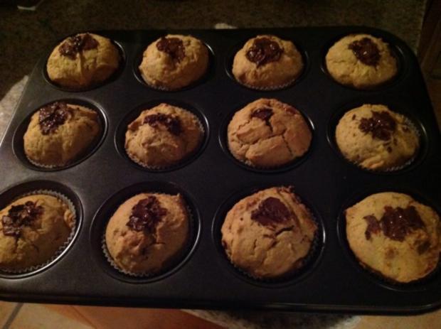 Kürbis-Muffins - Rezept