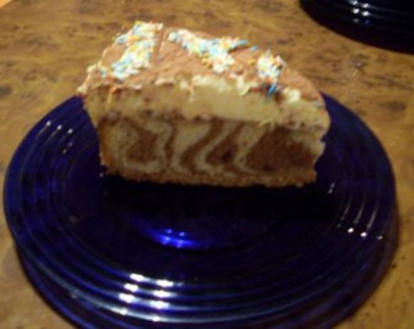 Hell - Dunkel - Torte mit Mandarinencreme - Rezept - Bild Nr. 2