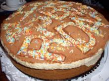 Hell - Dunkel - Torte mit Mandarinencreme - Rezept