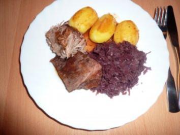 Fl/Rind/Schwein: Sonntagsbraten - Rezept