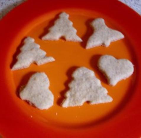 Mandelplätzchen   ca. 35 Stück - Rezept