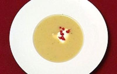 Birnen-Ingwer-Kartoffelcremesuppe - Rezept