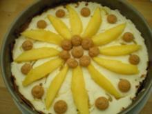 "TORTE- ""Mango- Amarettini- Torte"" - Rezept"