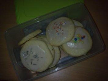 Rezept: Vanilla Bean Sugar Cookies