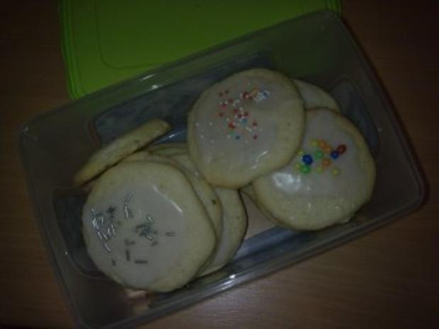 Vanilla Bean Sugar Cookies - Rezept