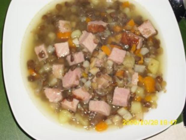 Suppe: Linseneintopf - Rezept - Bild Nr. 2