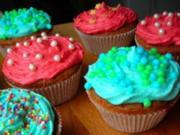 Zuckersüße Cupcakes (12 Stück) - Rezept