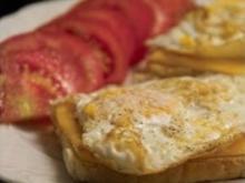 Das etwas andere Spiegelei auf Toast - Rezept