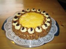Buttercremekuchen mit Eierlikör - Rezept