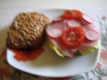 leckeres Körnerbrötchen - Rezept