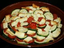 Tomaten-Zucchini-Gratin - Rezept