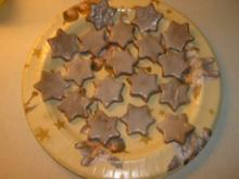 Mandel - Zimt - Sterne - Rezept