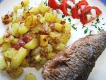 Kartoffeln - einfach nur gedämpft ... - Rezept