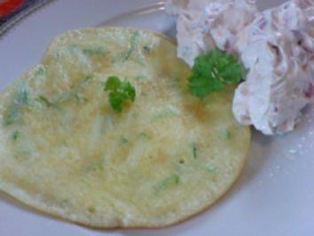 Zucchinipfannkuchen - Rezept