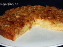 Apfelkuchen mit Mandelbelag - Rezept
